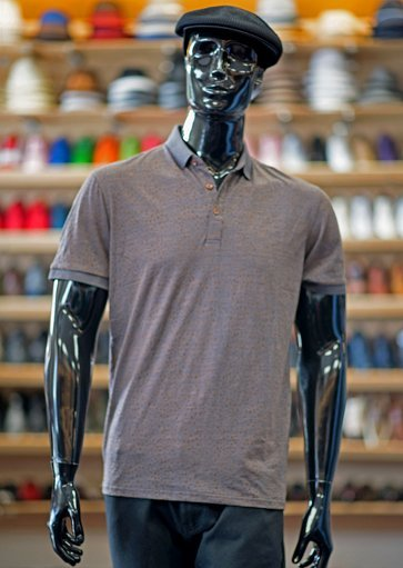 Dress-casual polo shirt at Men In Style Orlando