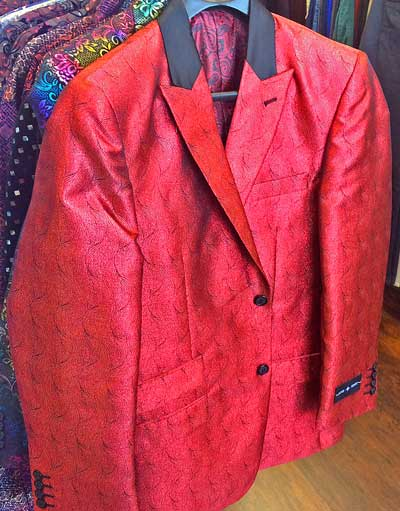 Red Formal Jacket