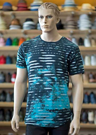 Dress-Casual tee shirt at Men In Style Orlando