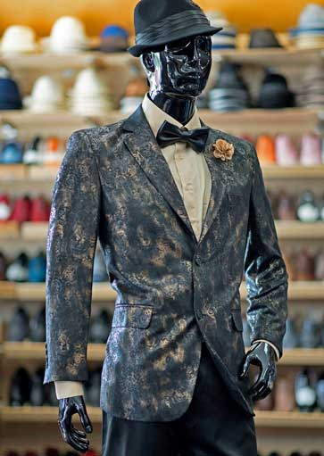 Formal jacket at Men In Style Orlando