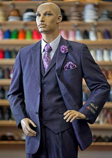 Men's suits at Men In Style Orlando