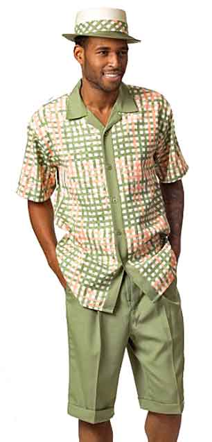 Men's Shorts Set - green