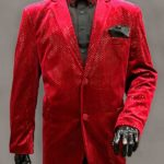 Men In Style Orlando Red Formal Jacket
