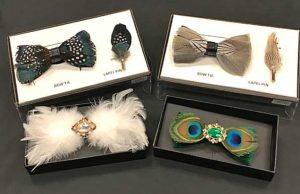 Bow Ties of Feathers