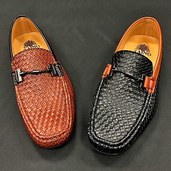 Men In Style Orlando shoes -- brown and black